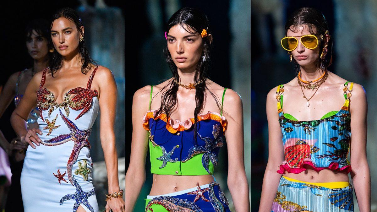 สนุกสนานไปกับเครื่องประดับสีสันสดใส แรงบันดาลใจจากท้องทะเล Versace คอลเลคชั่นฤดูใบไม้ผลิและฤดูร้อน 2021