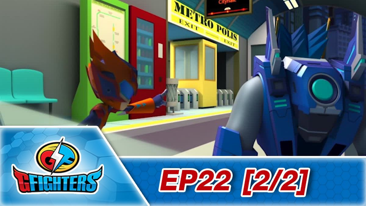 G fighter ep 22 [2/2]