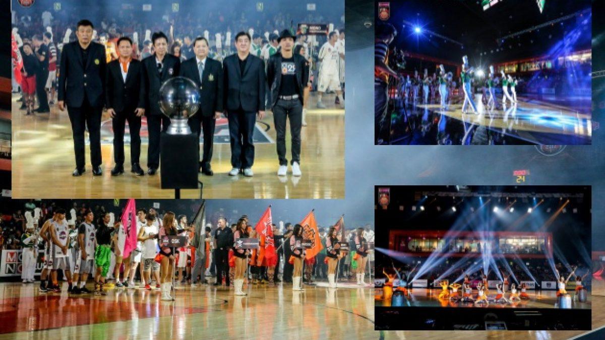 ยิ่งใหญ่กว่าทุกปี...พิธีเปิดการเเข่งขัน GSB Thailand Basketball League 2017