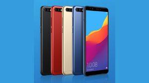 เปิดตัว Huawei Honor 7C จอ 5.99 นิ้ว กล้องคู่ เริ่มต้น 4,400 บาท
