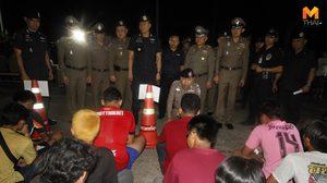 บุกจับแก๊งเด็กแว๊นอยุธยา ยึดรถ 128 คัน ตรวจปัสสาวะพบมีสารเสพติดเพียบ
