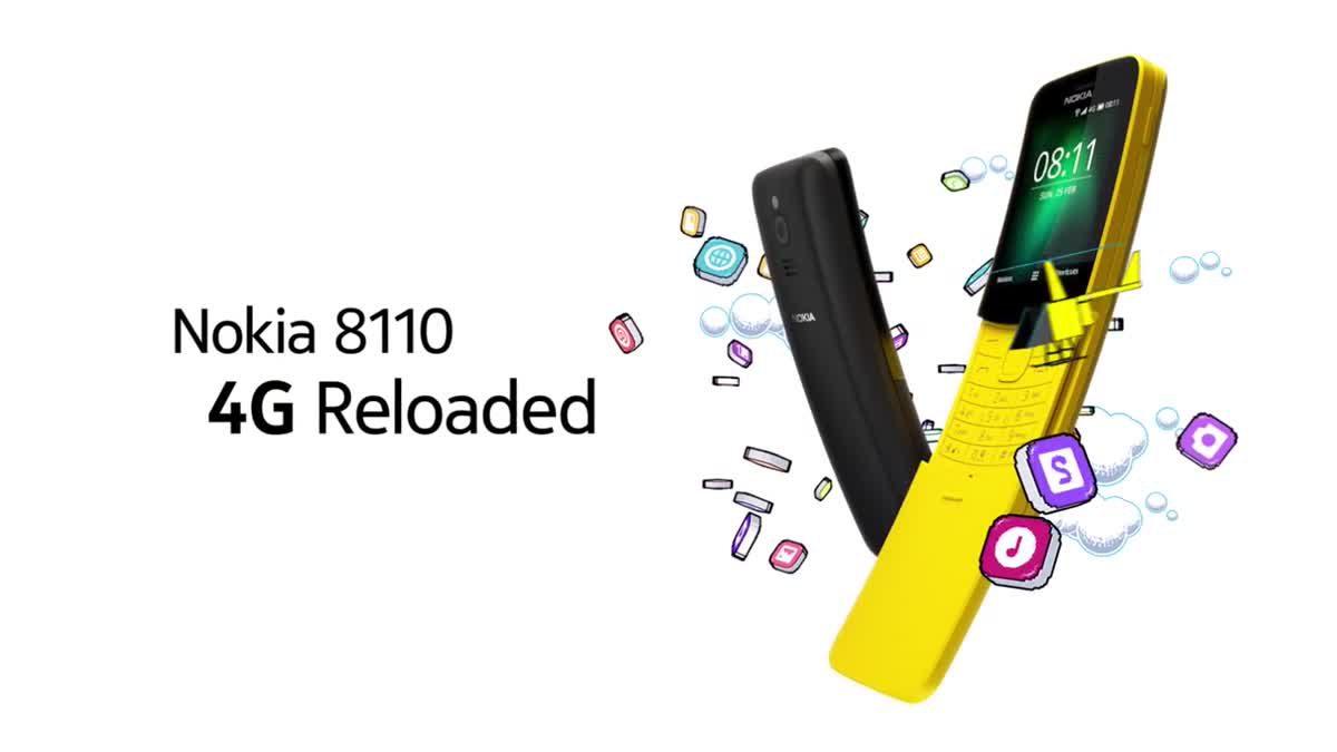Nokia 8110 4G การกลับของมือถือในตำนานพร้อมเทคโนโลยีสมัยใหม่