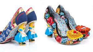 รองเท้าที่ได้รับแรงบันดาลใจจาก Alice In Wonderland
