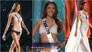 รวมชอตปัง แนท อนิพรณ์ บนเวที Miss Universe 2015 รอบ Preliminary เมื่อวาน