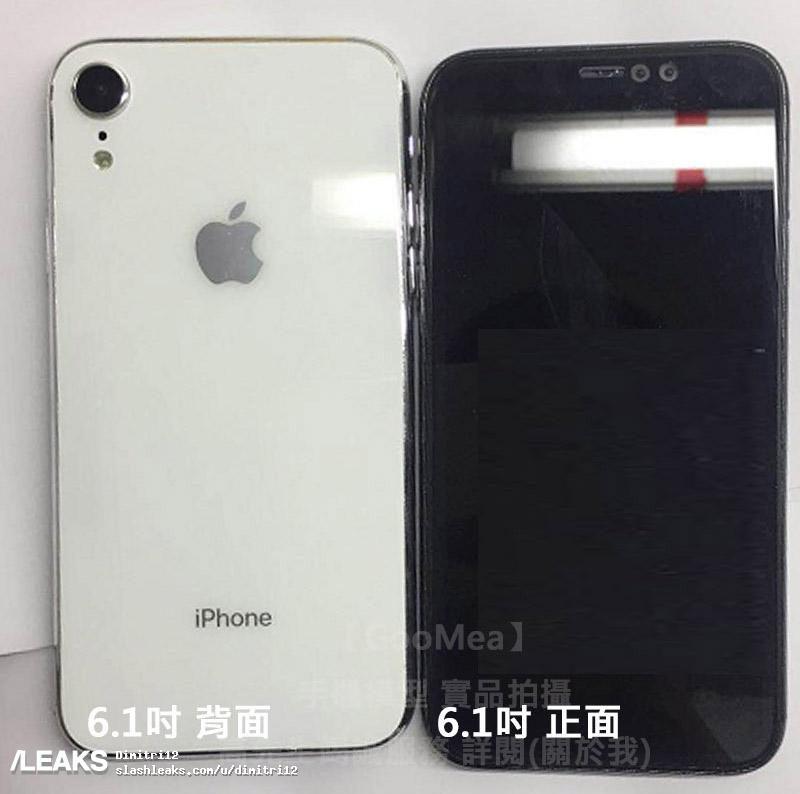 iPhone X Plus กับ iPhone 6.1