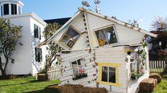 ชม บ้านโดโรธี จากวรรณกรรม Wizard of Oz สร้างเสร็จภายในวันเดียว!!!