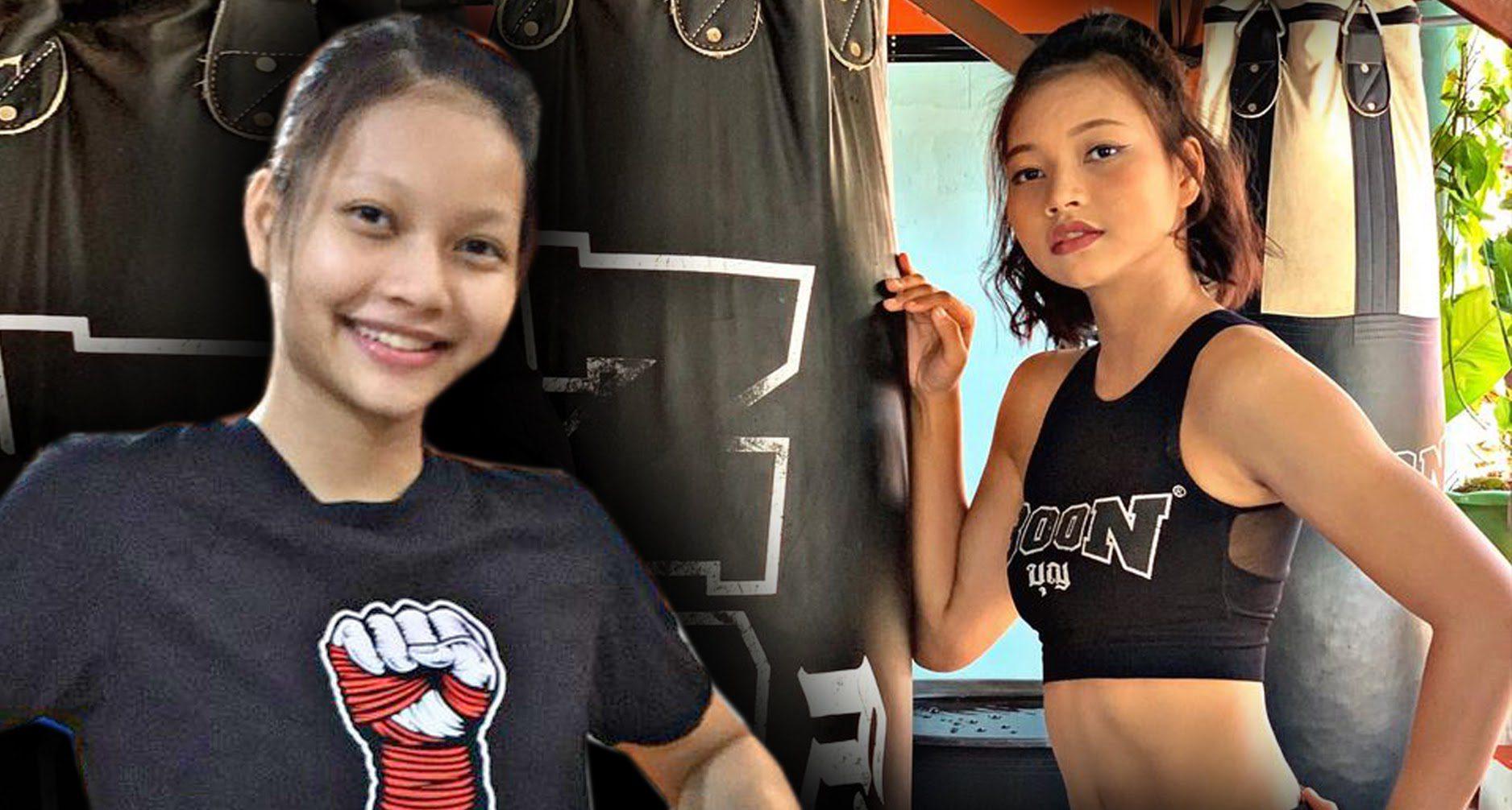 """เก่งเกินตัว! สาวน้อยวัย 16 ปี """"ซุปเปอร์เกิร์ล"""" นำความสำเร็จบนเวทีมวยไทยก้าวสู่สังเวียนระดับโลก"""