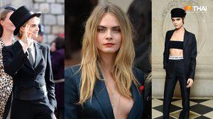 คาร่า เดเลวีน นางแบบ LGBT ทายาทนางสนองพระโอษฐ์ ราชวงศ์อังกฤษ