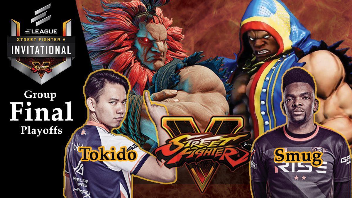 การแข่งขัน Street Fighter V | ระหว่าง Tokido vs Smug [Final Playoffs]