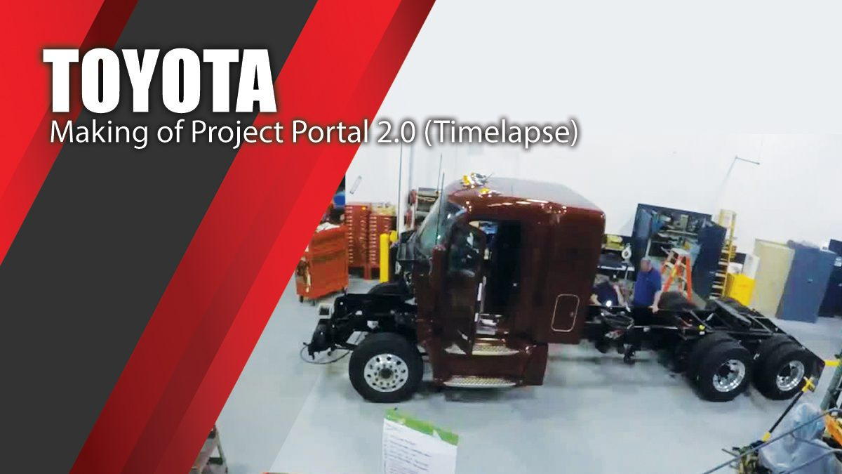 Toyota - Making of Project Portal 2.0 (Timelapse)