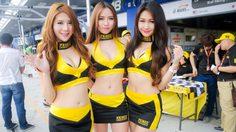 ประมวลภาพ พริตตี้ สาวสุดเซ็กซี่ งาน Asian Le Mans Series สนาม 3