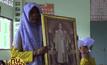 เด็กหญิง ป.5 ป่วยโรคผิวหนัง กอดรูปในหลวง ร.9 ร่ำไห้จะตั้งใจเรียน