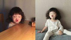 ขำวนไป! เด็กน้อยเกาหลีหน้ามึน ปากจู๋ จะถ่ายท่าไหนก็ฮาไปหมด