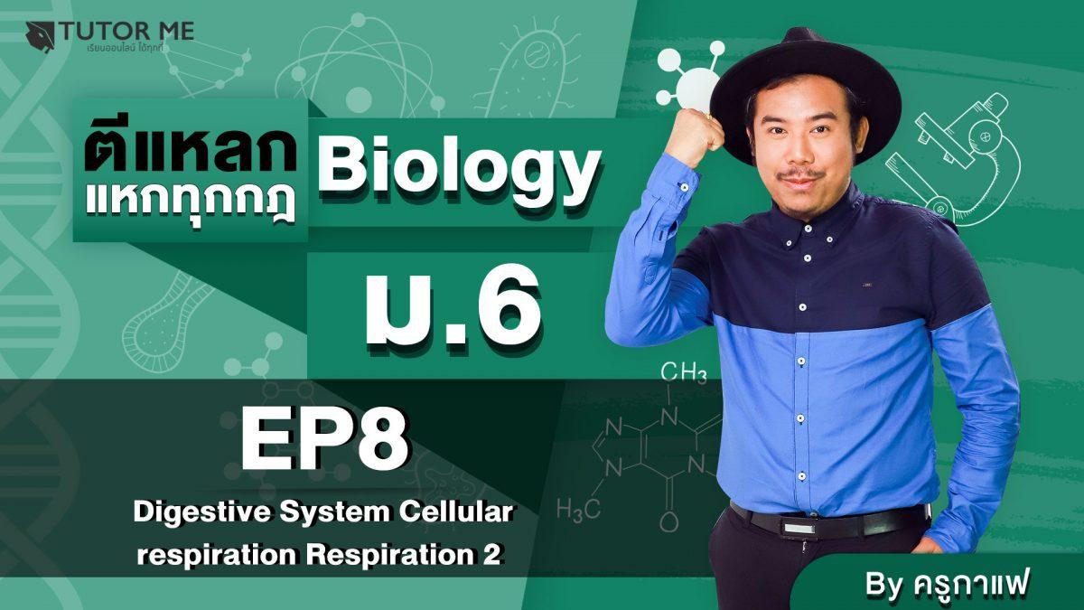 EP 8 Digestive System Cellular respiration Respiration 2