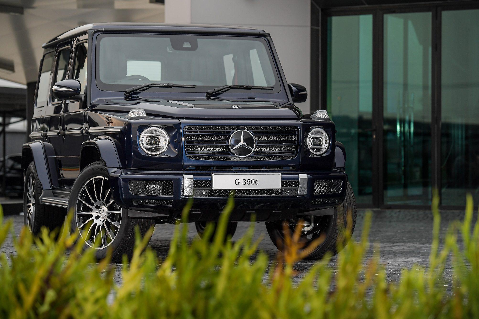 """เมอร์เซเดส-เบนซ์ เปิดตัว """"Mercedes-Benz G 350 d Sport"""" ที่สุดแห่งยนตรกรรมออฟโรด"""