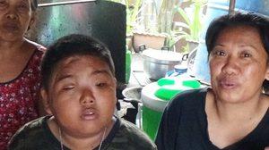 วอนช่วย! 'น้องมาร์ค' เด็กชายพิการทางสมอง ไม่ท้อชะตาชีวิต