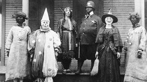 ภาพการแต่งตัวของเทศกาล Halloween ในสมัยก่อน ที่ดูแล้วหลอนสุดๆ