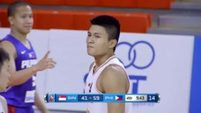 Philippines vs. Singapore Q4- 5th SEABA Stankovic Cup 2016 May 24, 2016