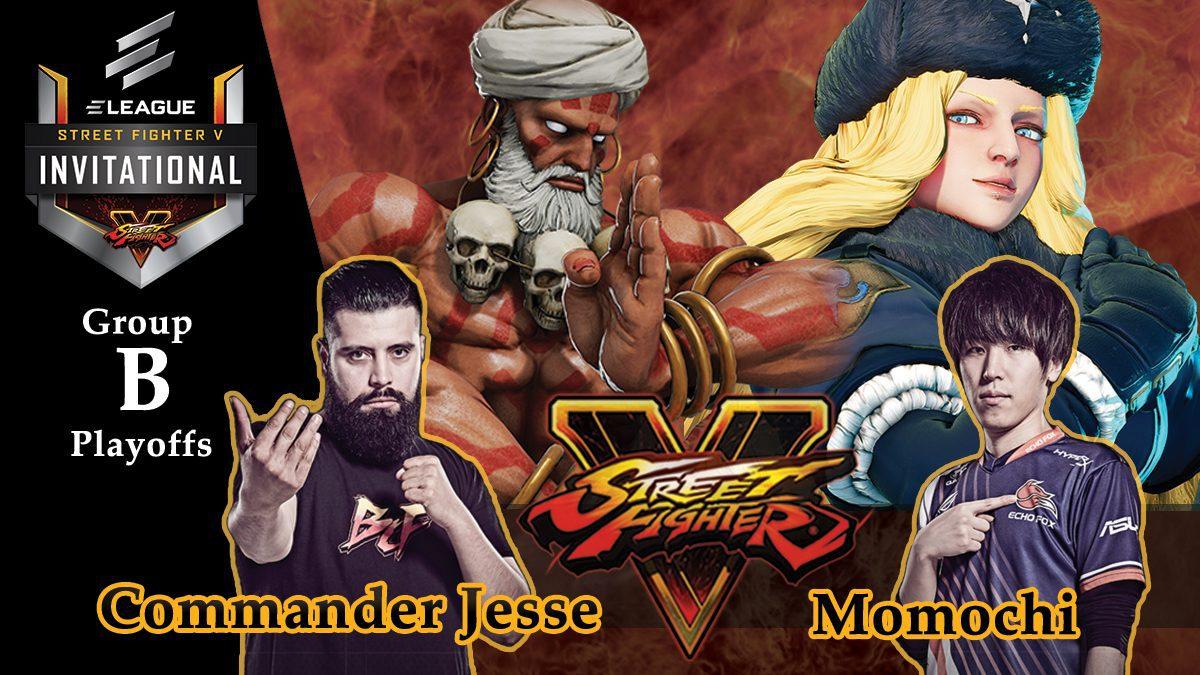 การแข่งขัน Street Fighter V | ระหว่าง Commander esse vs Momochi [Group B]