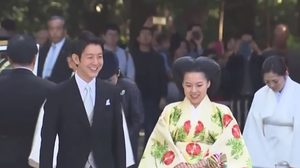 'เจ้าหญิงอายาโกะ' เข้าพิธีเสกสมรสกับชายสามัญชน
