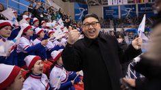 หนุ่มจีนปลอมตัวเป็น คิม จองอึน เข้าไปป่วนกองเชียร์เกาหลีเหนือในโอลิมปิคฤดูหนาว