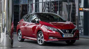 2019 Nissan Leaf E Plus เปิดตัว รถยนต์ไฟฟ้าใหม่ ในสหราชอาณาจักร