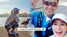 """ตูน – ก้อย วิ่งไกลถึงลอนดอน หยอดหวาน """"มีความสุขทุกครั้งที่วิ่งด้วยกัน"""""""