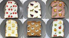 ศิลปะบนแผ่นขนมปัง ไอเดียสร้างสรรค์จากนักออกแบบอาหารชาวญี่ปุ่น