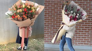 เทรนด์ใหม่เกาหลี โอปป้าแห่สั่ง ดอกไม้ช่อยักษ์ เซอร์ไพรส์แฟนสาว