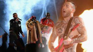 Maroon 5 นำทีมโชว์ยิ่งใหญ่! จูนสองขั้วทางดนตรีที่ 'Super Bowl Halftime Show'