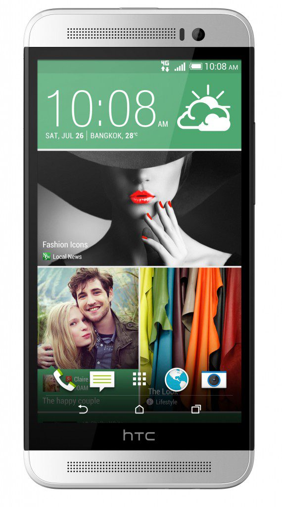 HTC One E8_Ace_White_Front