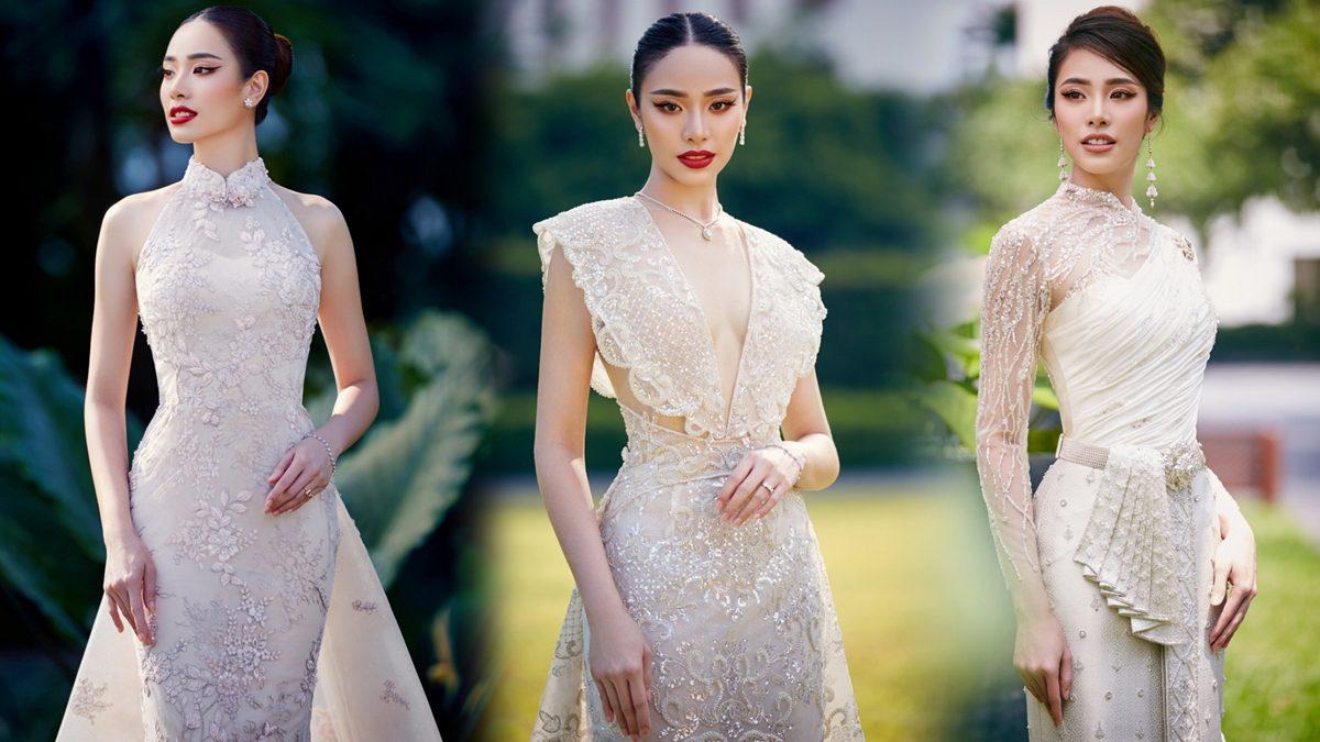 """ชมพู เดอะเฟซ ในแฟชั่นชุดแต่งงาน คอนเซปท์ """"The Oriental bridal couture"""" วิจิตรงดงามตระการตา"""