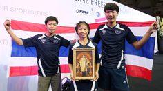 """""""ณิชกานต์""""  สาวน้อยวัย 12 ปี ทำผลงานกระหึ่มซิวแชมป์โลกแบทเทิล สไลด์"""