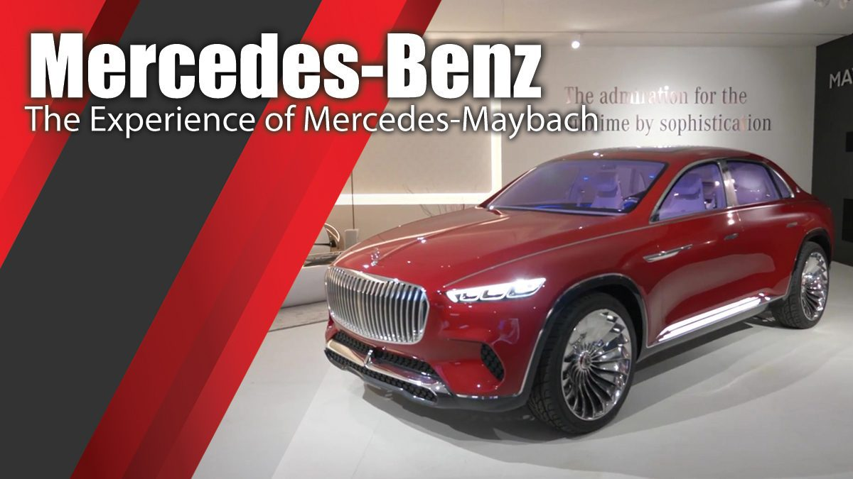 Mercedes-Benz Design Essentials II, Workshop - Ultimate Luxury - The Experience of Mercedes-Maybach