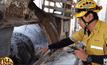 2 คนงานก่อสร้าง ถูกเครื่องผสมปูนปั่นร่างเสียชีวิต