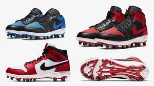 Jordan 1 TD ตำนานรองเท้าบาสสู่รองเท้าฟุตบอล มาทั้งตัว Low และ Mid
