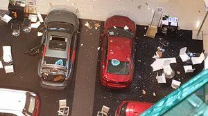ฝ้าเพดานห้างดังย่านปิ่นเกล้าถล่ม!! ทับคนเจ็บ 3 ราย