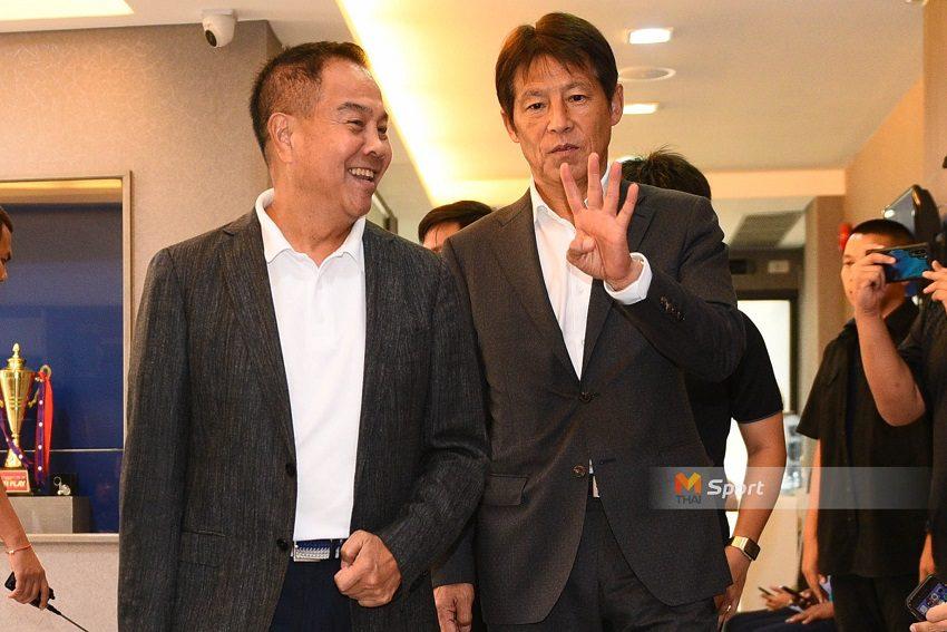 ส.บอลฯ ต่อสัญญา นิชิโนะ นั่งกุนซือช้างศึกถึงปี 2022