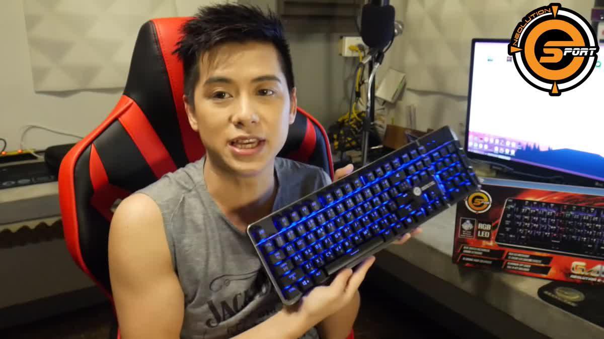 เฮียกวงทะลวง Keyboard Neolution E-Sport GALAXTIC