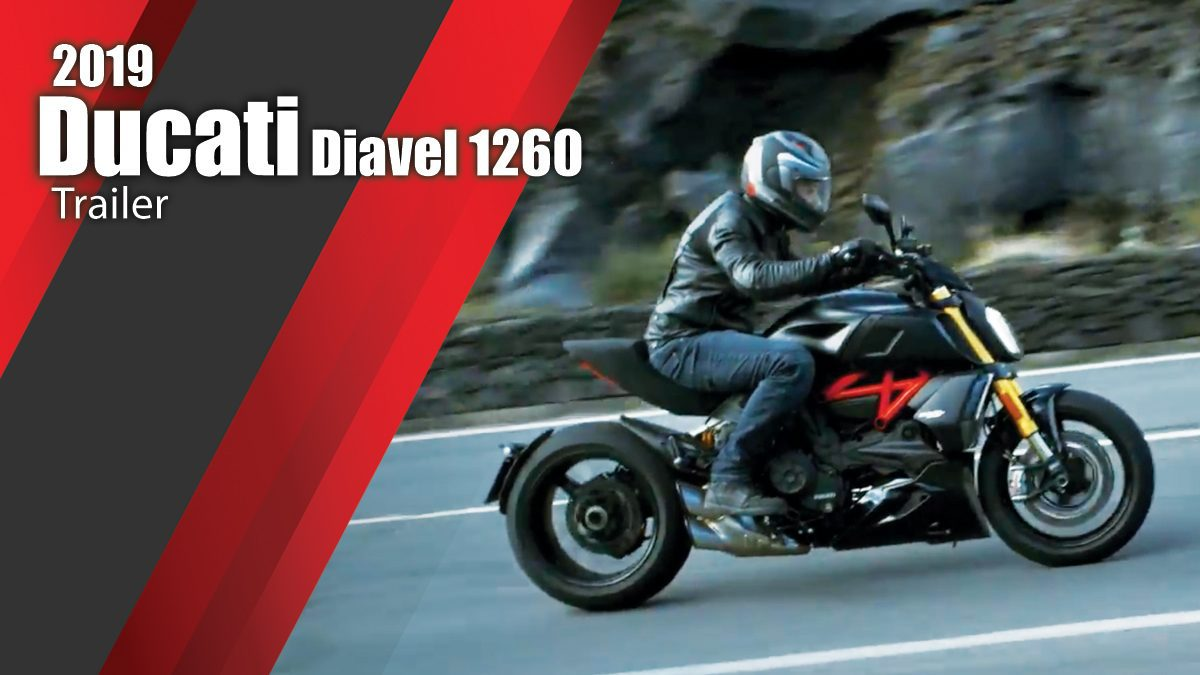 2019 Ducati Diavel 1260 Trailer