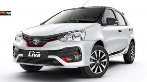 Toyota Etios Liva Dual Tone ลิมิเต็ด อิดิชั่น ขาวตัดดำ เปิดตัวเเล้วที่อินเดีย