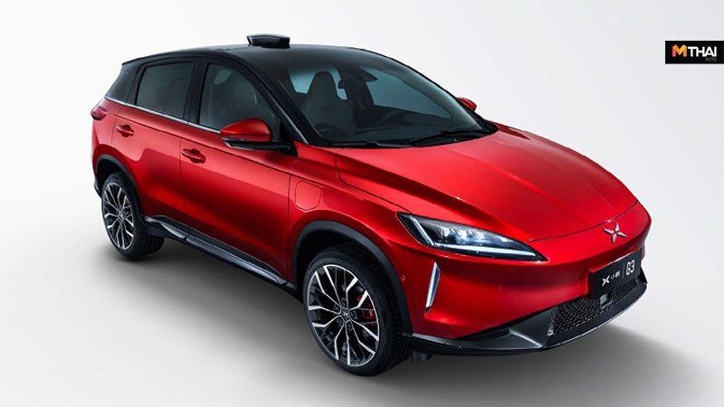 Xpeng G3 รถเอสยูวีไฟฟ้า ออกขายที่ตลาดจีน ด้วยราคาเริ่มต้นที่ 1.066 ล้านบาท