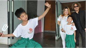 น่าชื่นชม! น้องเฮงเฮง ลูกชาย ฟอร์ด สบชัย โชว์การแสดงโขนในวัย 8 ขวบ!!