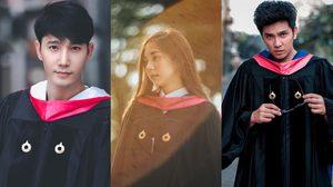 เรียนจบแล้ว 6 ศิลปินดารา รับปริญญามหาวิทยาลัยรังสิต