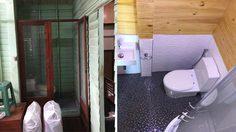 รีโนเวทห้องน้ำ ขนาด 1.8 ตร.ม.ในบ้านไม้หลังเก่ากว่า 50 ปี