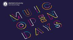 งาน MUIC Open Days วันที่ 23-24 ส.ค. 2562
