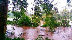 จ.แพร่ เตือนชาวบ้านริมแม่น้ำยม เตรียมพร้อมรับสถานการณ์น้ำล้นตลิ่ง