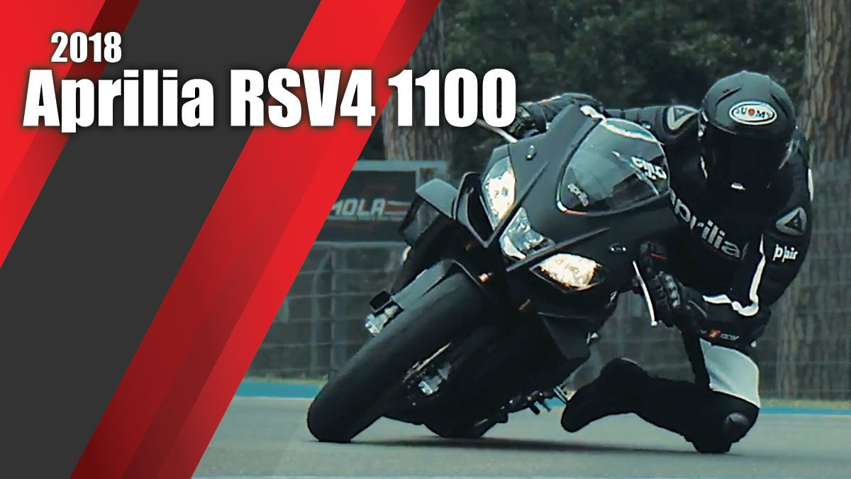 2018 Aprilia RSV4 1100