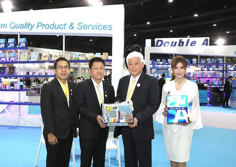 ดั๊บเบิ้ล เอ ร่วมออกบูธในงาน Thailand Industry Expo 2019