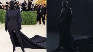 ความหมายชุดสีดำ ที่ Kim Kardashian ใส่เดินพรมแดง Met Gala ที่รู้แล้วจะอึ้งกว่าเดิม!